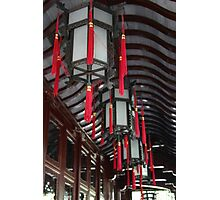 Chinese lanterns Photographic Print