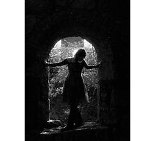 Gothic Faery Photographic Print