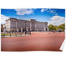 Beautiful Buckingham Palace in the Spring: London UK Poster