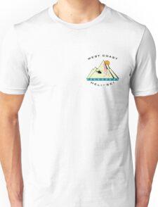 West Coast Panorama Heli-ski small Unisex T-Shirt