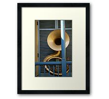 Architectural Music Framed Print