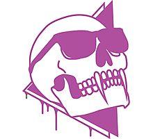 Wayfaring Undead - Purple Photographic Print
