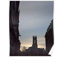 Sundown Church on High street Poster