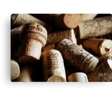 Cork it  Canvas Print