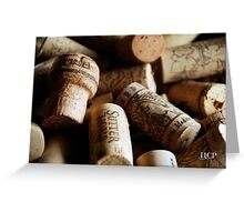 Cork it  Greeting Card