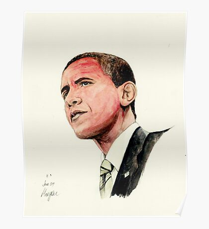 President Barak Obama Poster