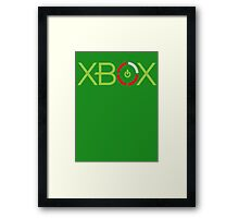 Red Ring Xbox Framed Print