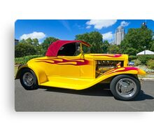 Hot Rod On Show Canvas Print