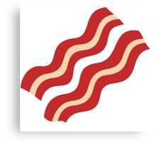 Strips of Bacon Canvas Print