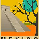 Mexico Travel Poster by FinlayMcNevin