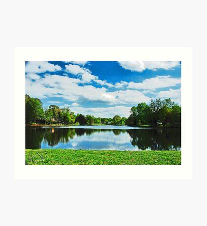 The Lake Art Print