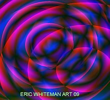 ( FLUFF ) ERIC WHITEMAN ART  by eric  whiteman