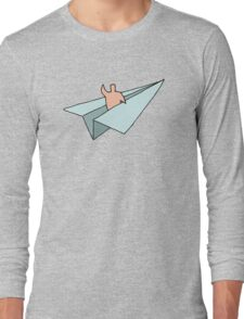 Paper Plane's Maiden Voyage Long Sleeve T-Shirt