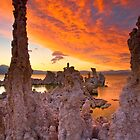 Mono Lake Sky on Fire by photosbyflood
