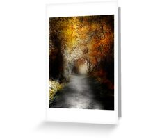 This Path I Have Taken .............. Greeting Card