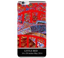 Red Bed iPhone Case/Skin