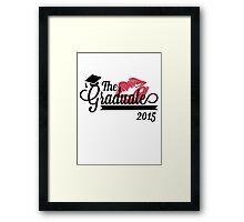 The Graduate 2015  Framed Print