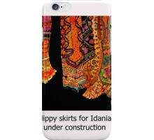 Bohemian skirts iPhone Case/Skin