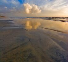 Oceanside Reflection ll by photosbyflood