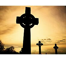 High Crosses Photographic Print