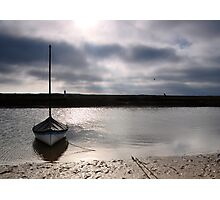 Low tide at Blakeney Photographic Print