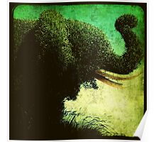 Ttv: Elephant Topiary Poster