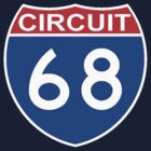 CIRCUIT 68-INTERSTATE LOGO by OTIS PORRITT