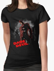 Devil City Womens Fitted T-Shirt