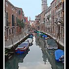 Venice Canal by Angelo Vianello