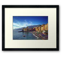 Camogli - Landscape Framed Print