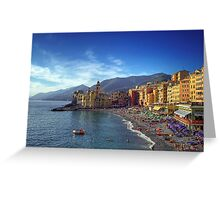 Camogli - Landscape Greeting Card