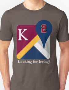 Kyrie Irving Maps T-Shirt