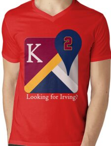 Kyrie Irving Maps Mens V-Neck T-Shirt