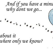 """Keane """"Somewhere Only We Know"""" Balloon by nutmegandginger"""