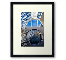 Abstract Tunnel Framed Print