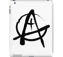 Anarchist Freehand Anarchy Symbol iPad Case/Skin
