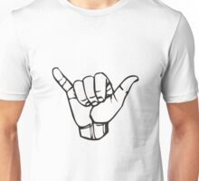 Gnarly Hand Sign Bodacious Unisex T-Shirt