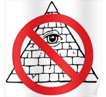 Anti Illuminati Sigil Poster