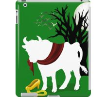 Into the Woods -  Green Background iPad Case/Skin