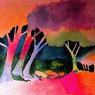 Reverse Trees by WienArtist