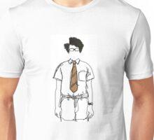 Moss Line Drawing Unisex T-Shirt