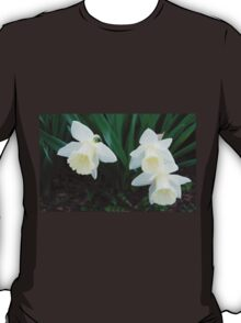 Three White Daffodils T-Shirt