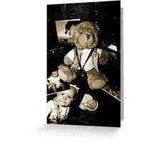 Teddy the Photographer Greeting Card