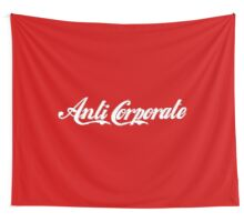 Anti-Corporate 'Subversive' Cola Logo Wall Tapestry