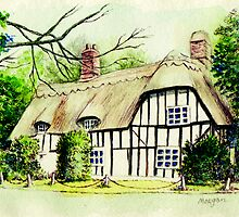 English cottage in cambridgshire by morgansartworld