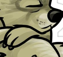 Druid Cuties - Bear Sticker