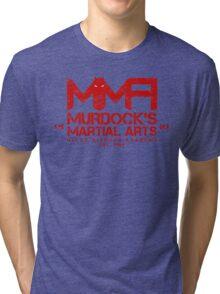 MMA - Murdock's Martial Arts (V04 - Bloodred) Tri-blend T-Shirt
