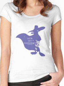House Darkwing Women's Fitted Scoop T-Shirt