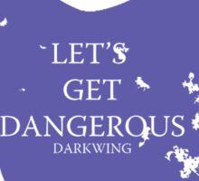 House Darkwing Sticker