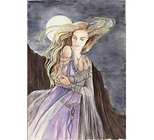 Lady of the Moon Photographic Print